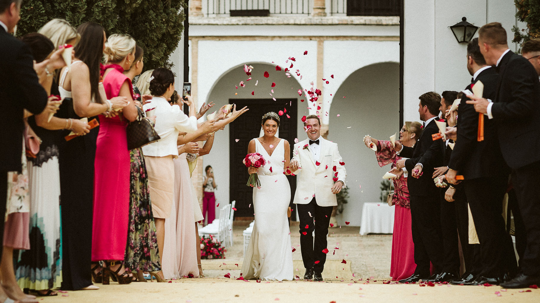 English wedding in Seville